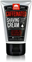 Pacific Shaving Company Caffeinated Shaving Cream - Helps Reduce Appearance of Redness, With Safe, Natural, and Plant-Deri...