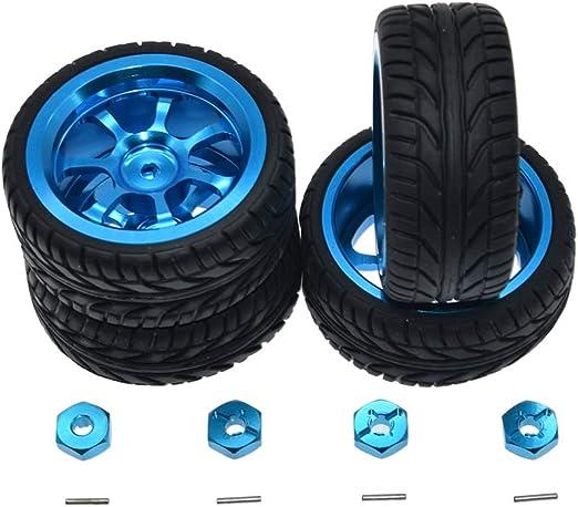 YDong Legierung Nabe R?der Reifen f/ür Wltoys A949 A959 A969 A979 K929 A959-B A969-B A979-B K929-B RC Auto Upgrade Ersatz Teile Zubeh?R