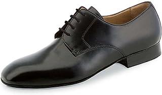 d51c79a0aad7 Werner Kern Hommes Chaussures de Danse 28013 - Cuir Noir - Extra Large - 2  cm