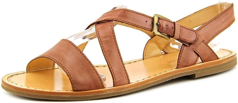Cole Haan Deandra Flat.San.II Women US 5.5 Brown Slingback Sandal