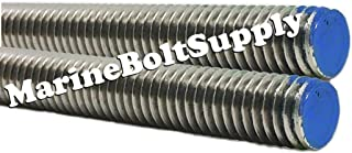 Type 18-8 Stainless Steel Fully Threaded Rod - Marine Bolt Supply (3/4-10 x 3FT (Bundle of 2))