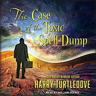 The Case of the Toxic Spell Dump audiobook cover art