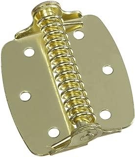 National Hardware N240-481 V628 Cabinet Spring Hinges in Brass, 2 pack
