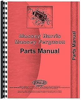 New Massey Ferguson MF865 Combine Parts Manual (includes both volumes)
