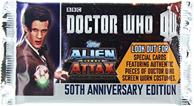 Doctor Who Alien Attax 50th Anniversary Edition Booster Pack