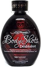 Tanovations Ed Hardy Body Shots Double Shot Warning Mega Extreme Hot Tingle, 13.5 oz.