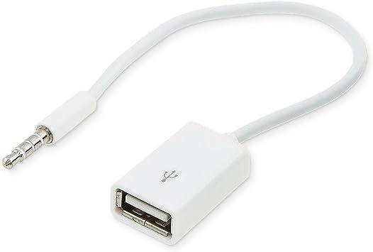 Conecto Cc20001 Aux In Kabel 3 5 Mm Klinke Stecker Auf Elektronik