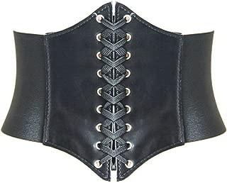 Lace-up Corset Elastic Retro Cinch Belt Waist Belt Four Sizes