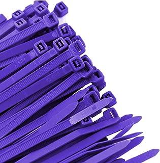 Pro Tie PR11SD100 11.8-Inch Purple Standard Duty Color Cable Tie, Purple Nylon, 100-Pack