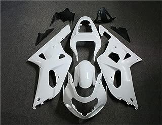 Unpainted Plastic Bodywork Fairing Fit for SUZUKI 2001 2002 2003 GSXR 600 750 Injection Mold ABS New Aftermarket Bodyframe Kit Set 01 02 03