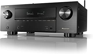 Denon AVR-X3600H UHD AV Receiver | 2019 Model | 9.2 Channel, 105W Each | NEW Virtual Height Elevation, Dual Subwoofer Outputs | Home Automation Integration & Remote Monitoring | Airplay 2 Alexa & HEOS