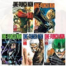 One-Punch Man Volume 1-5 Collection 5 Books Set (Series 1)