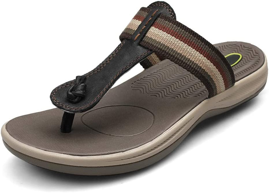 YINLAN Summer Mens Flip Flops Chicago Mall Alternate for Outdoor Flop Bea Limited Special Price Man