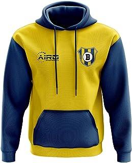 Airosportswear Brondby Concept Club Football Hoody (Yellow)