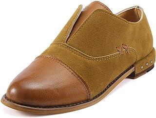 LILICAT✈✈ Zapatillas Moda Mujer Retro Plana Zapatos de ...