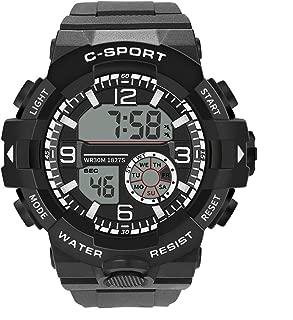 SFE Fashion Watches,Men Analog Digital Military Sport LED Waterproof Wrist Watch New