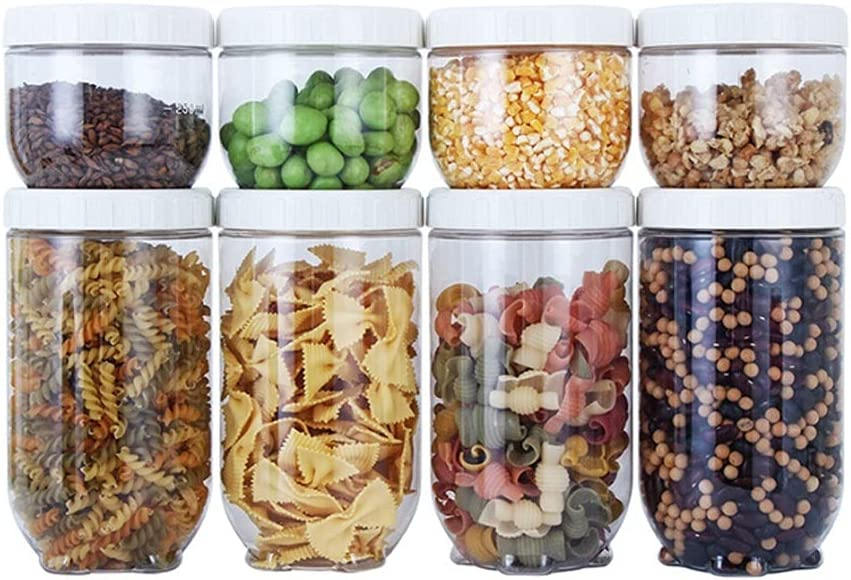 Condiment Daily bargain sale Max 54% OFF Jar Spice Container Grain and Contain Storage Food Dry