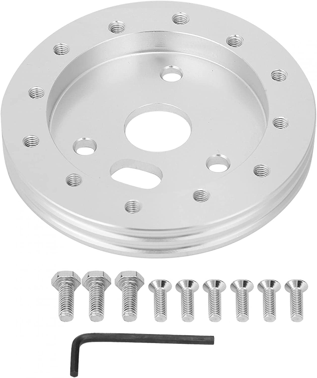 Selling and selling Raguso Steering Wheel Pad Replacement Silver Car Industry No. 1 for