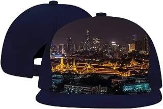 Unisex Adult Trucker Temple Nightscape Hat Popular Adjustable Mesh Cap Baseball Cap