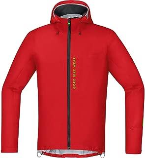Gore Bike WEAR, Men´s, Mountain Bike Jacket, Waterproof, Gore-TEX Active, Power Trail GT AS, Size L, Red, JGPOWM