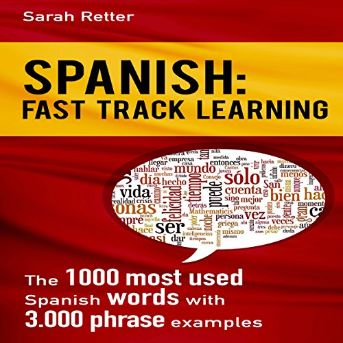Spanish: Fast Track Learning audiobook cover art