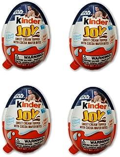 Kinder Joy Egg Star Wars With Surprise Inside .7oz 4pk