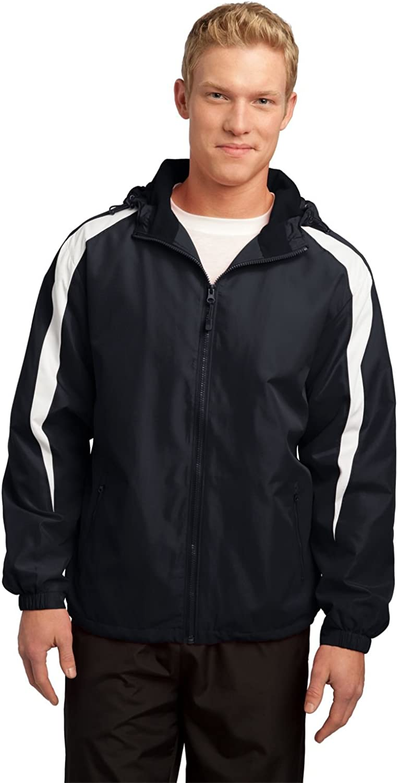Sport Tek Fleece-Lined Colorblock Jacket. JST81