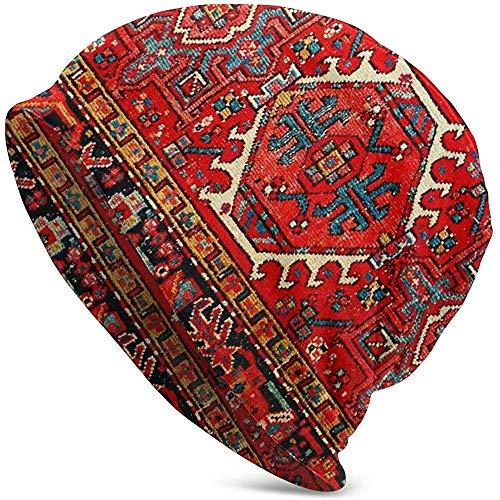 GodYo i-Ran Perzisch Oosterse i-ranisch etnische traditionele stammes slouchy manchet schedel gebreide muts winter warme skihassen snapback zwart