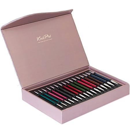 KnitPro KP90851 Knit Pro Aiguilles à Tricoter, Bois, Multicolore, 21,5 x 0,6 x 5 cm