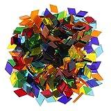 320g Glas Mosaiksteine Mosaik Fliesen Glasmosaik Schmucksteine für DIY Basteln