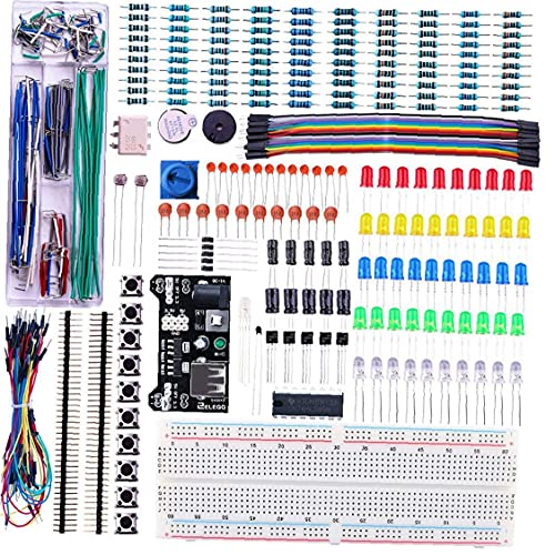 830 Point Bread Board Solderless Prototype Breadboard Mini PCB Test Board Compatible with,Components