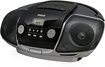 RCA RCD175 PORTABLE CD BOOM BOX WITH CASSETTE PLAYER