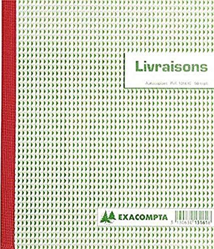Exacompta 13161E Manifold Livraisons 21/18 50 Feuillets Triples Autocopiants