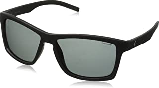Polaroid Sunglasses Pld7009s Wayfarer, Matte Black/Gray Polarized, 57 mm