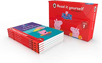 PEPPA PIG READ IT YOURSELF TUCK BOX (LEVEL 1): 5 PEPPA RIY BOOKS IN TUCK BOX