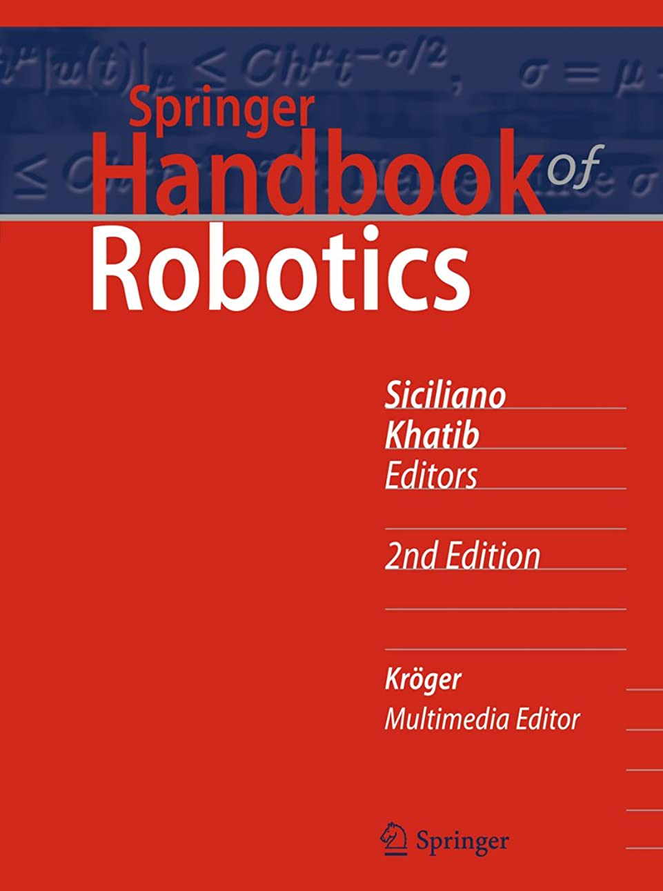 ヘア横たわるバイソンSpringer Handbook of Robotics (Springer Handbooks) (English Edition)