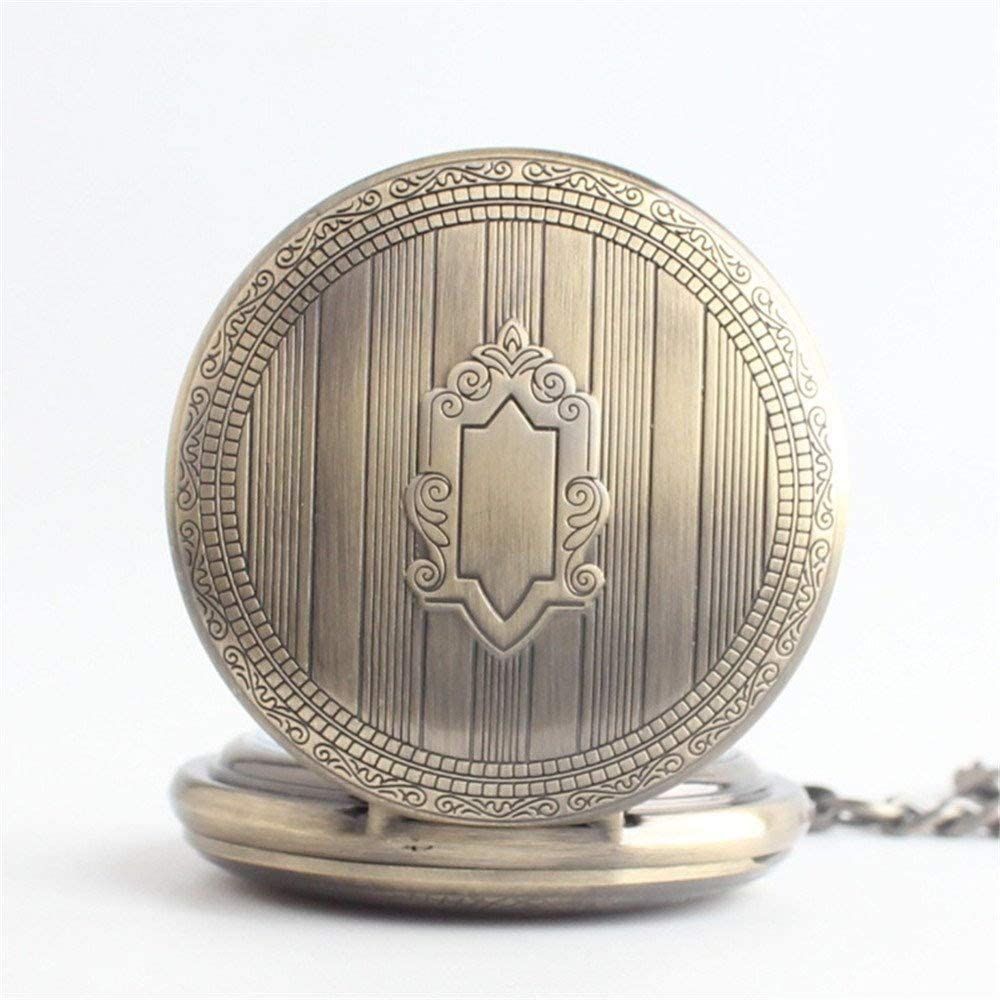 XJJZS Limited time cheap sale Vintage Roman free shipping Numerals Scale Pocket Watch Quartz with Chai