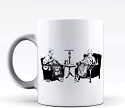 Novelty Printed Mugs Banksy Punk Is Not Dead Coffee Mug & Funny Cup