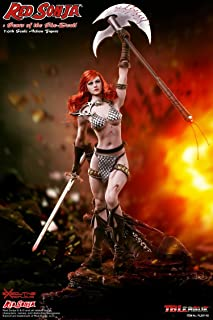 TBleague Phicen Red Sonja Sonja The She-Devil Super Flexible Female Seamless Body 1/6th Scale Action Collectible Figure PL2017-93