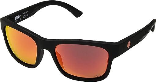 Dale Jr/Matte Black/HD Plus Gray Green/Orange Spectra Mirror
