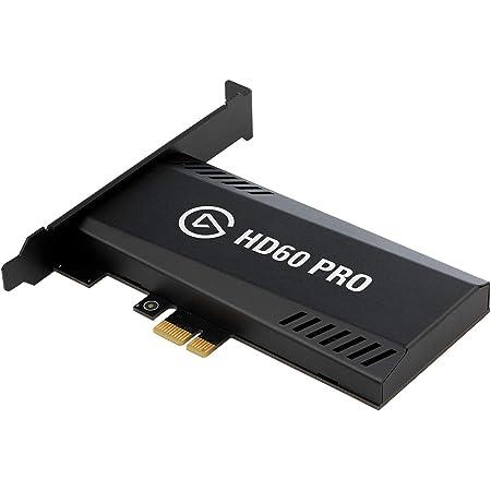 Elgato PCIeキャプチャーボード HD60 Pro 4K/60fps HDR10パススルー 低遅延 低レイテンシー USB3.0 【PS5,PS4/Pro,Xbox Series X/S,Xbox One X/S対応】
