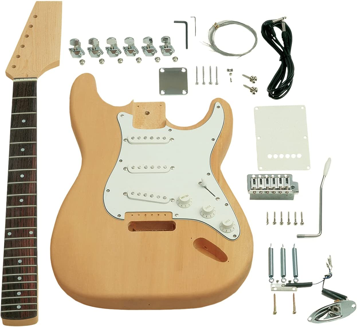 Saga Popular overseas ST-10 Popular overseas Electric Guitar - Style S Kit
