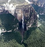 lunaprint Angel Falls from The Bird Eye Venezuela America