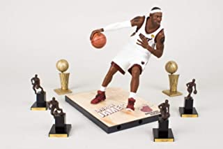 LeBron James McFarlane NBA Figure Collectors Club Exclusive Series 24 with 4 MVP Trophies