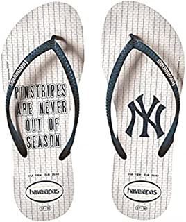 havaianas 中性款上衣 MLB 修身 NY yankees 凉鞋