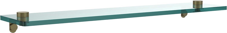 Allied Brass NS-1 22-ABR 22-Inch by 5-Inch Glass Shelf
