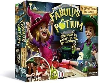 Découvre ce jeu scientifique amusant - Fabulus Potium - Crée des potions magiques - Devient le meilleur sorcier - Dès 8 ans