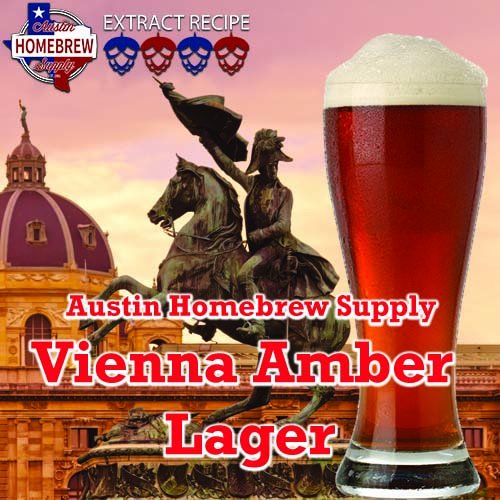 Austin Homebrew Vienna Amber 3A Inexpensive Max 68% OFF Lager - EXTRACT