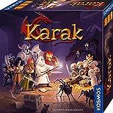 KOSMOS 682286 Karak - Das Abenteuer beginnt, spannendes Kinderspiel ab 7 Jahre für 2 - 5 Personen, Fantasy Abenteuer Spiel, Brettspiel mit Würfeln