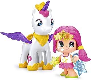 Pinypon - Estrella y Unicornio Volador, colores aleatorios,